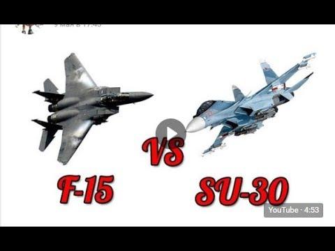Су 30 против Ф 15 бой в Индии шокировал Американцев Su 30 vs f 15