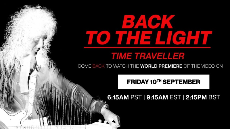 Brian May Back To The Light The Time Traveller 1992 2021 Official Video