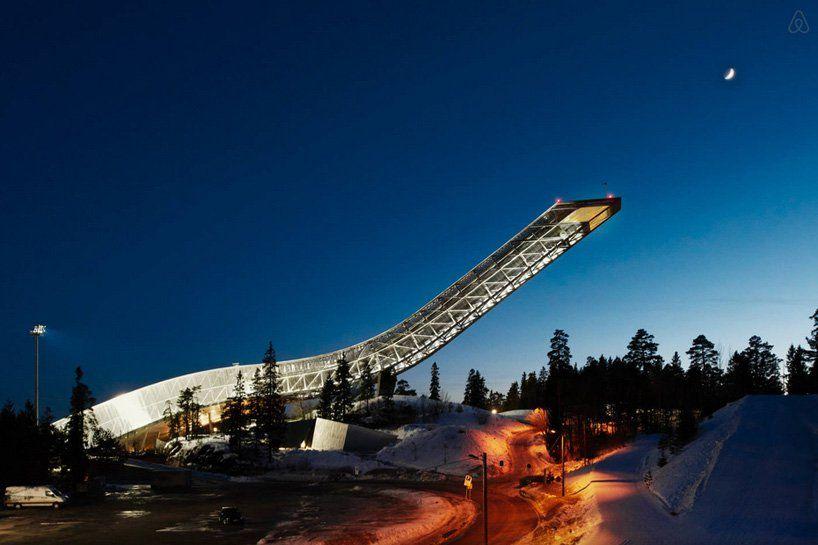 Дизайн апартаментов в лыжном трамплине / Осло, Норвегия