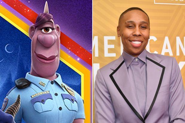 В мультфильме «Вперёд» фигурирует фиолетовая полицейская-циклоп, офицер Спектер, которая является открытой лесбиянкой (и озвучена такой же).