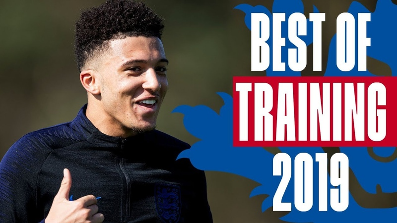 CHEEKY Sancho Panenka Bronze Worldie Sterling's on Fire Best of Shooting Training 2019 England