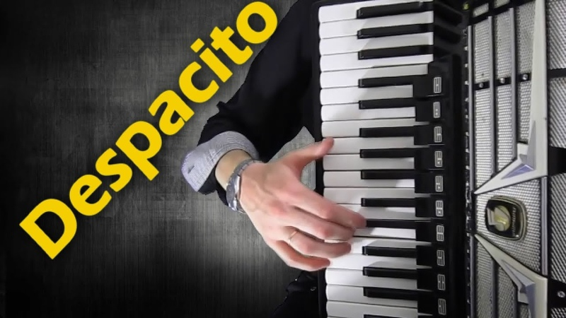 Despacito на аккордеоне Luis Fonsi music accordion cover