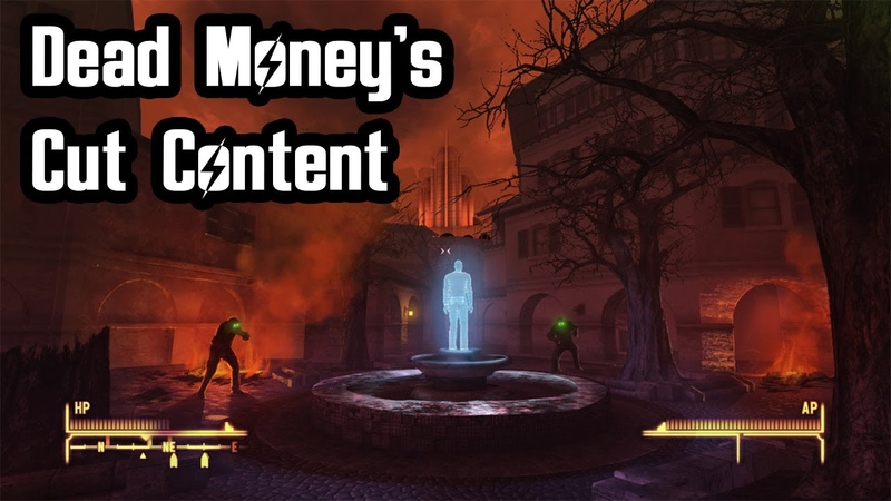 Dead Money's Cut Content