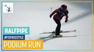 Zoe Atkin   2nd place   Women's Halfpipe   Aspen   FIS Freestyle Skiing