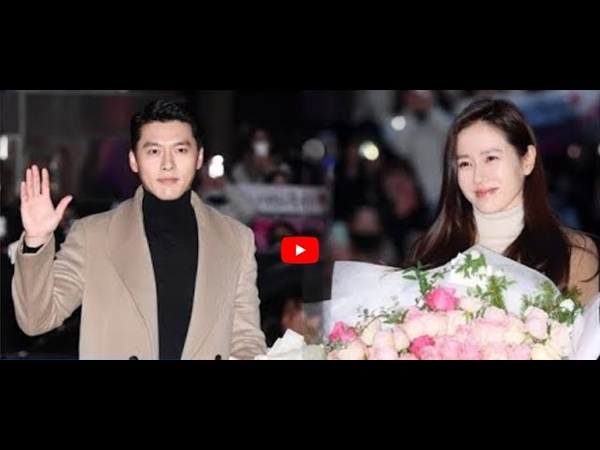 Hyun Bin and Son Ye Jin are dressing in Couple Jackets at Wrap Up Party Crash Landing On You