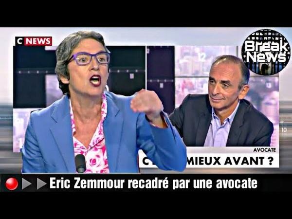 🔴▶▶Eric Zemmour humilié par une avocate sur la polémique Hapsatou Sy