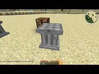 Обзор модов Minecraft # 36! 3D КРАФТ (Crafting pillar)