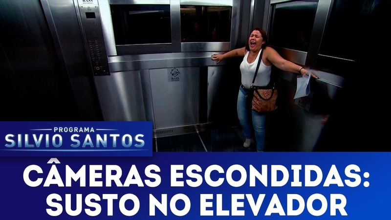 Susto no Elevador - Scary Lift Prank | Câmeras Escondidas (17/06/18)