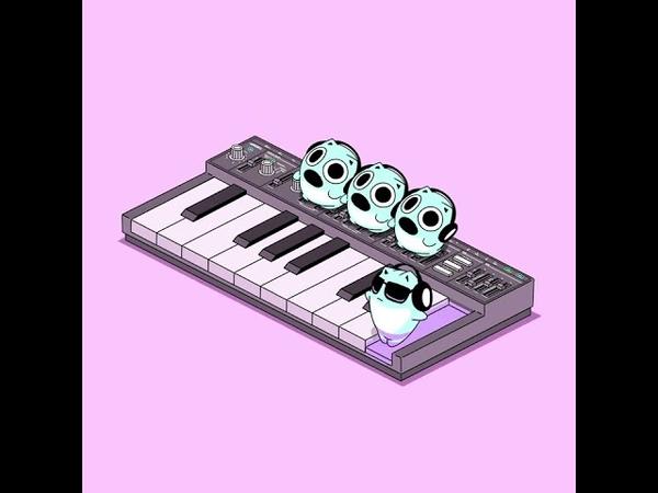 小さなシンセサイザー奏者 ブルーハムハム