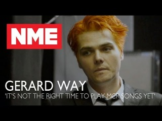 Gerard Way: 'It's not the right time to play My Chemical Romance songs yet'