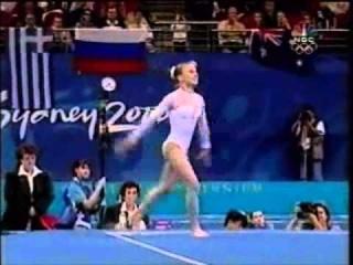 Elena Zamolodchikova (RUS) - 2000 Olympic Games EF FX
