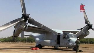 3  - Небесные воины / Стальные птицы - V 22 Osprey