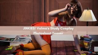 JINKIES! Velma's Study Cosplay Photoshoot Teaser