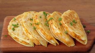 바삭한 치즈감자 타코 만들기 :: 치즈가 쭉쭉~ 또띠아 요리 :: 감자퀘사디아 :: 감자요리 :: Potato Quesadilla :: Crispy Potato Tacos