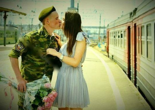 Парень с армии вернулся картинка