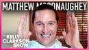 Matthew McConaughey Crashed A Seniors' Bingo Night