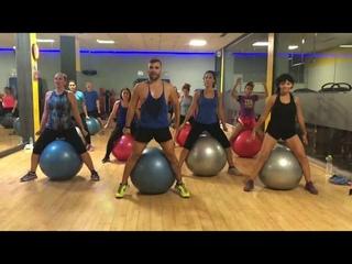 Zumba fitball - Gimnasio Atenas Benalmadena