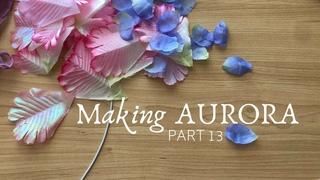 Chatty Sewing Vlog: Flower Petals | Making Midnight Masquerade Aurora - Part 13