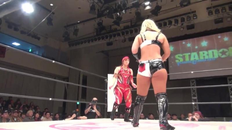 7. Meiko Satomura Toni Storm vs. Takumi Iroha Yoko Bito
