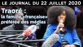 Adama Traoré : l'égérie anti-raciste soupçonnée de viol - JT du mercredi 22 juillet 2020