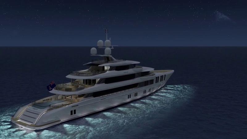 Turquoise Yachts tarafından üretim aşamasında olan 74 metrelik Vallicelli