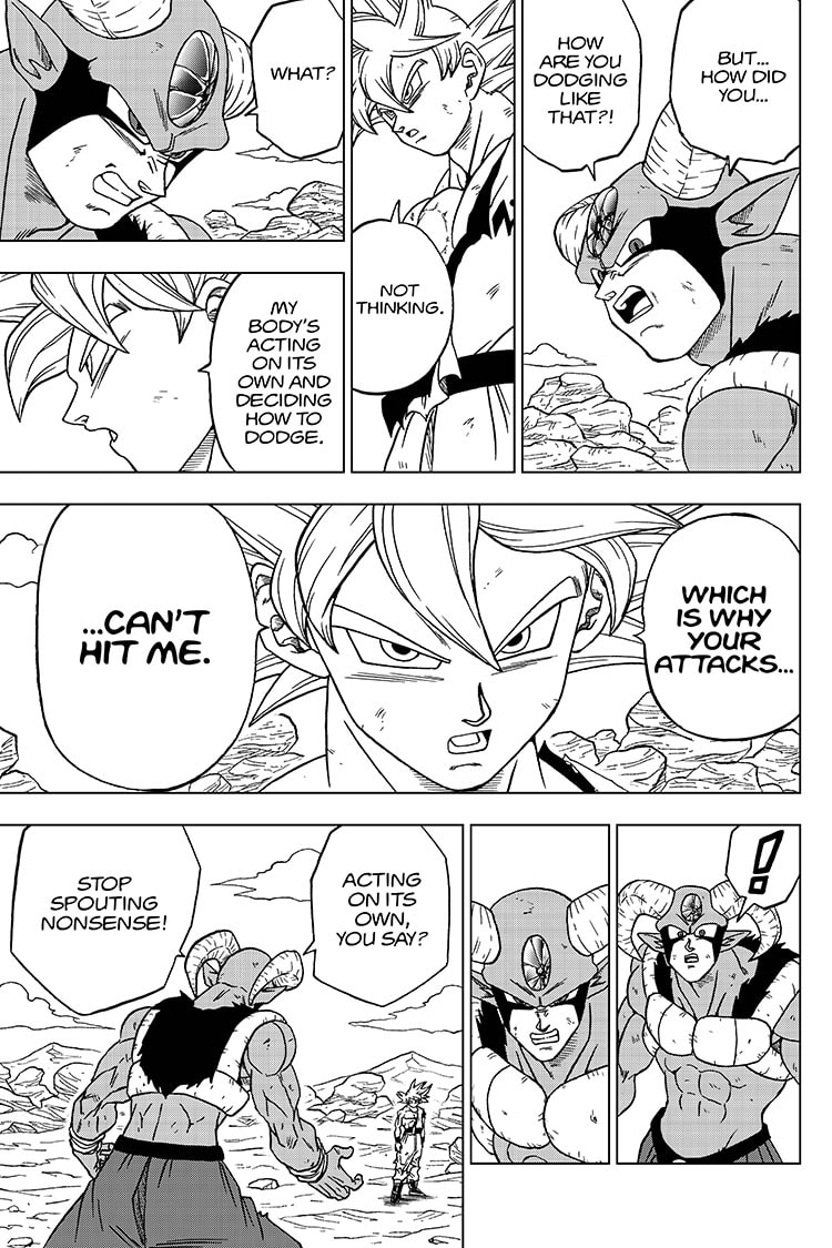 Dragon Ball Super, Chapter 64, image #23
