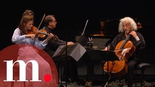Janine Jansen, Mischa Maisky, and Mikhail Pletnev perform Tchaikovsky's Trio in A Minor - VF 2021