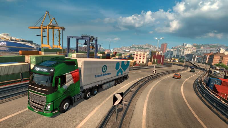Euro Truck Simulator 2. Поддержите стрим репостом))