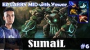 SumaiL - Tiny EZ CARRY MID | with YawaR (Chaos Knight) | Dota 2 Pro MMR Gameplay 6