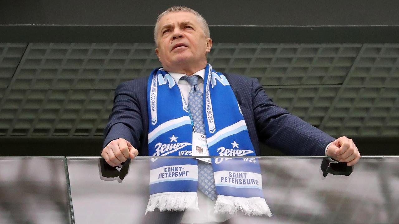 Александр Медведев. Президент ФК Зенит