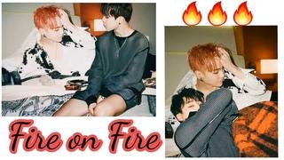 Yoonmin Fire on Fire  Emotional struggles   Suga & Jimins soft moments compilation