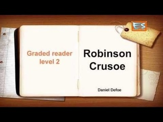Audiobook - New Learn English through story   Robinson Crusoe     Graded reader1