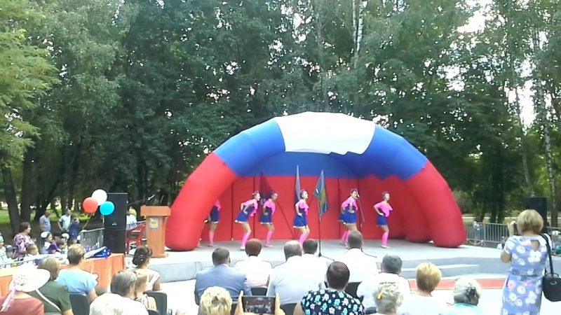 Варенька-Студия Танца GreeDance - Юбилей Колпнянского района. 18.08.2018.