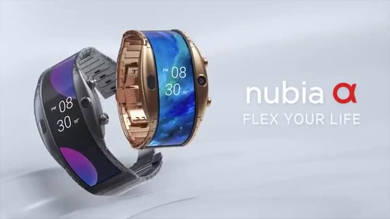 Часы смартфон ZTE NUBIA ALPHA с OLED-дисплеем 50% скидка!