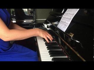 Heller - Feuillet d'album  / Геллер - Листок из альбома / Piano Bois Colombes