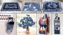 8 Old Jeans Ideas Best Out of Waste Old Clothes Reuse