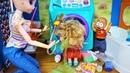 МАША Я НЕ ХОТЕЛ, ЭТО ВСЁ СЛАЙМЫ! Катя и Макс куклы веселая семейка смешная анимация Даринелка ТВ