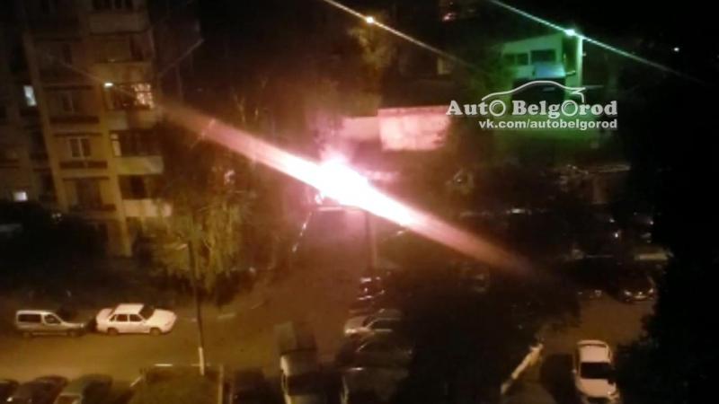 Возгорание авто на Шаландина 15 06 2018