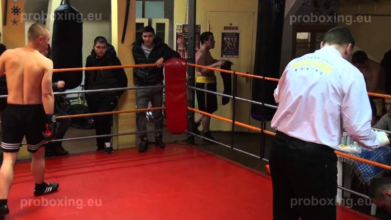 08.02.2015 Eduards Milevičs (LAT) VS Nikolay Vasilchenko (RUS) proboxing.eu