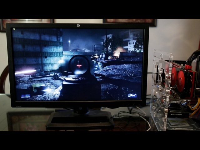 AMD HD 7990 Battlefield 3 Gameplay 2560 x 1440 Ultra Settings