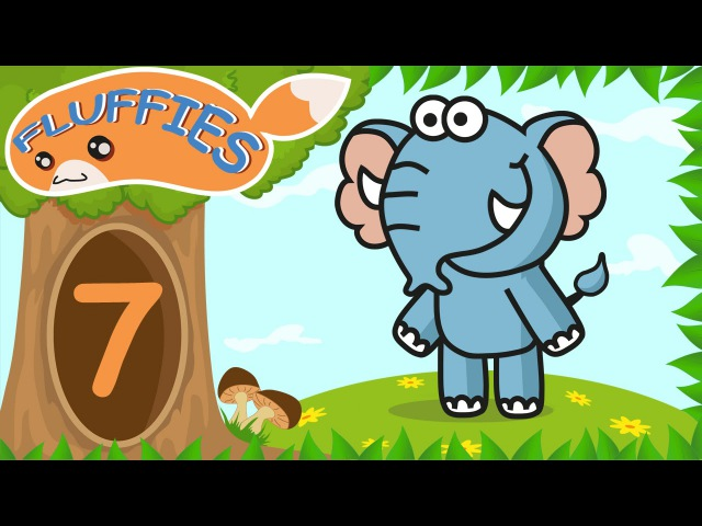 Cartoon for kids. Pig, Cat, Lemur with Doctor Elephant. Battle with the Dragon. Season 1. Episode 7