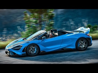 2022 McLaren 765LT Spider | Hardcore Convertible Supercar