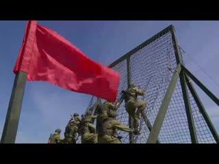 Морская пехота на полосе препятствий