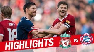 Highlights: Liverpool Legends 5-5 FC Bayern Legends   Alonso, Gerrard, Kuyt and more
