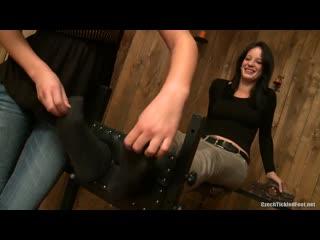 Tess lyndon gets mila's feet