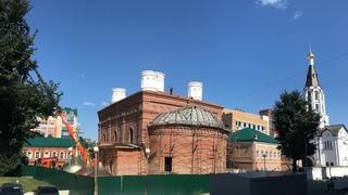 Освещение и торжественный подъём куполов главного храма