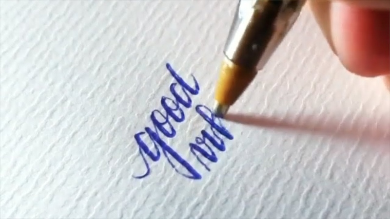 Neat HANDWRITING styles with ballpoint pen How to write neat handwriting Calligraphy