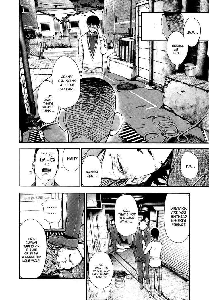 Tokyo Ghoul, Vol. 4 Chapter 35 Solitary Battle, image #6