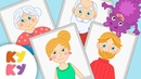 КУКУТИКИ - Все Песенки СЕМЬЯ - Мама, Папа, Бабушка, Дедушка - Сборник