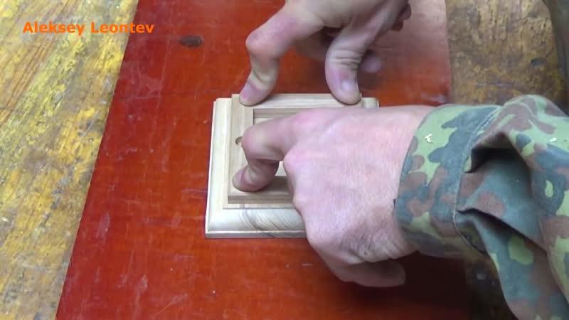 Карандашница из дерева - 3. Карандашница - спираль Wooden Pencil Holder 3. Moving Spiral